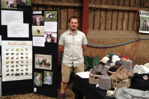 Henry at the Blaze Farm Wool Experience 2015